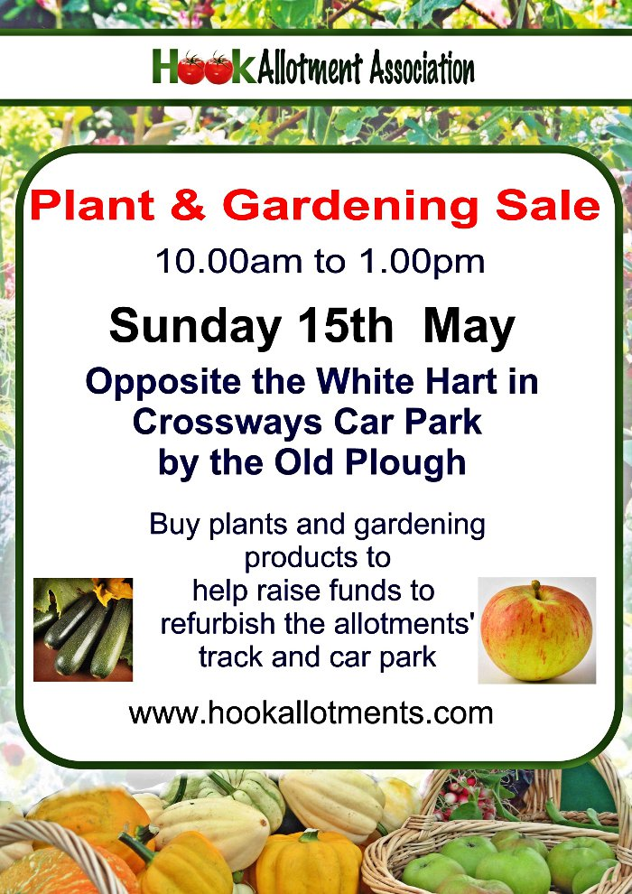 Hook Plant and Garden Sale