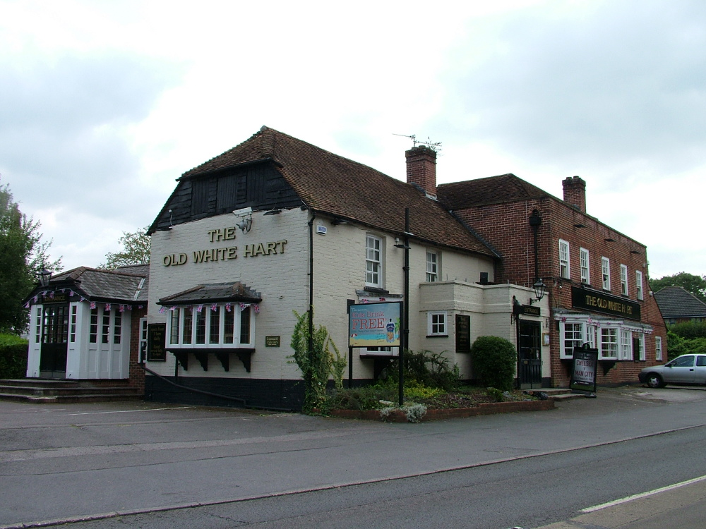 The Old White Hart Hook